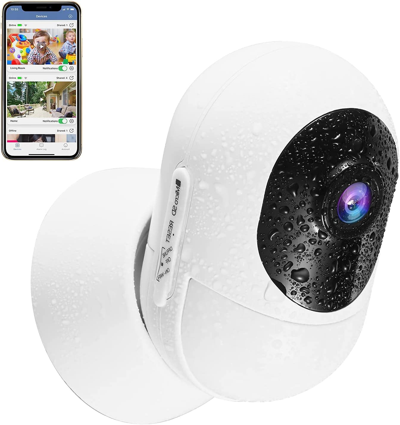 2.4G Wireless Security Camera Outdoor Home Some reservation Surveillance Max 88% OFF IP WiFi