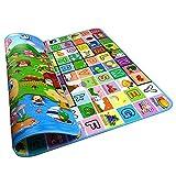 GGG 200x 180x 5cm Stärke zusammenklappbar, doppelseitig Schaumstoff Pad Wasserdicht Baby Spiel Spielen Boden Aktivität kriechen Teppich Alphabet Paradise