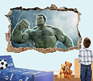 المظهر 3D ملصقات الحائط ملصقات الحائط المتقدمة ملصقات ملصق 3D جدارية غرفة الأطفال الديكور