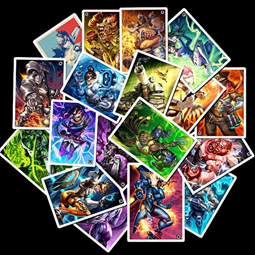 25 Pcs School Sticky Notes Papelaria Game Overwatch Black Lily Stationery Sticker Waterproof