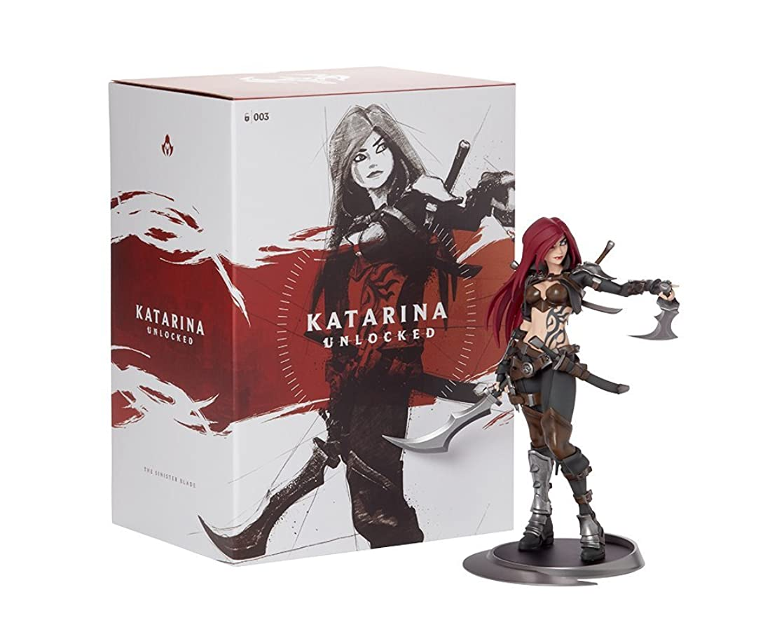 League of Legends Official Statue, Katarina Unlocked