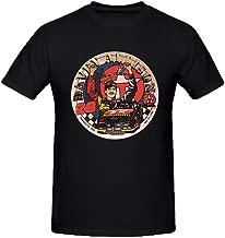 NIWAHO Design Davey Allison # 28 Commemorative Plate T shirts Cotton Round Collar Man Black