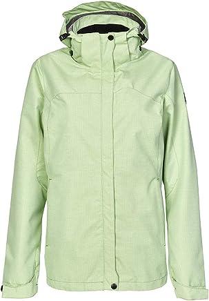 Killtec Women's Inkele Kg Functional Outdoor Rain Jacket with ZipOff Hood