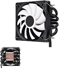 Silencioso Ventilador de Enfriamiento ID-Cooling IS40x AM4 Heat Pipe ITX Presión hacia Abajo CPU Radiador del Ventilador de Enfriamiento