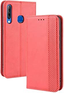 Case for Infinix Smart 3 Plus X627,Leather Stand Wallet Flip Case Cover for Infinix Smart 3 Plus X627,Retro magnetic Phone...