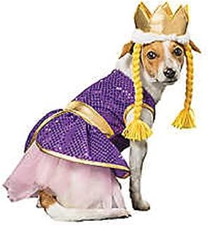 Thrills & Chills Rapunzel Queen of The Castle Halloween Dog Costume - Small