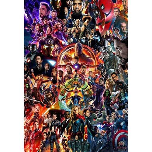 Avengers League, puzzle in legno for adulti for bambini, Stills di film di Infinity War 300/500/1000 Pezzi for fidanzate Amici Giocattoli regalo Gioco Decorazioni for la casa Anime del fumetto di deco
