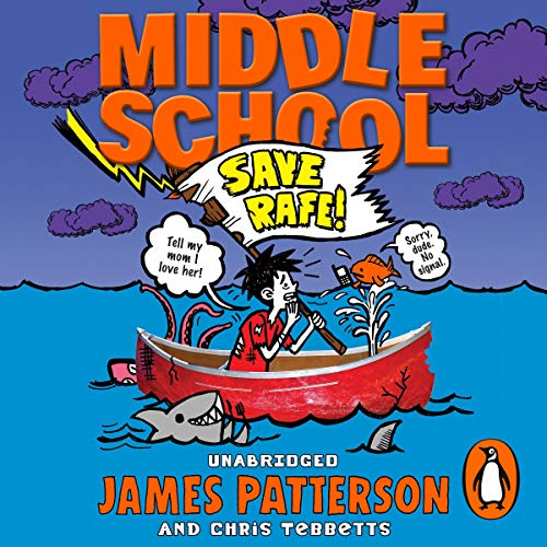 Middle School: Save Rafe audiobook cover art