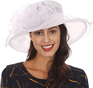 periwinkle derby hat