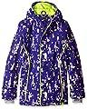Under Armour Girls UA CGI Britton Jacket, Europa Purple (540)/X-Ray, Youth Large