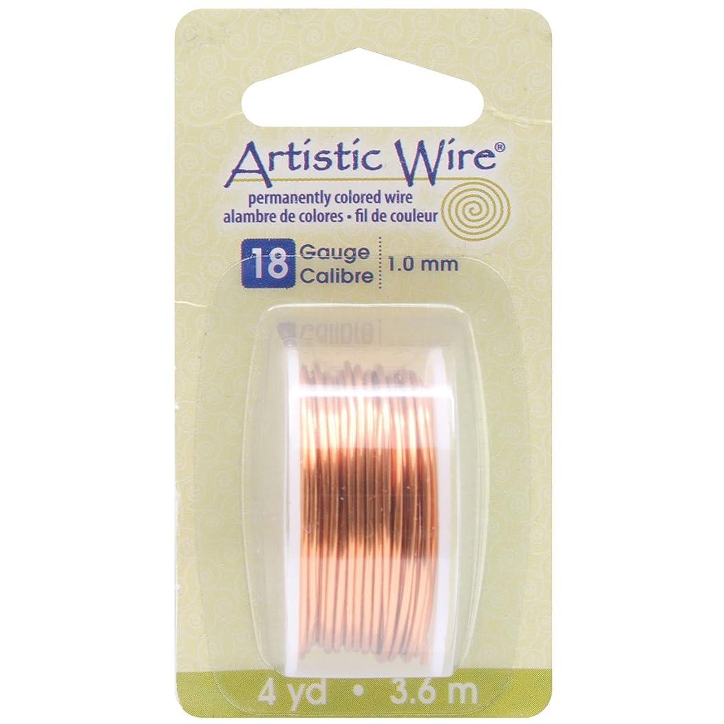 Beadalon Artistic Wire 18-Gauge Natural Wire, 4-Yards