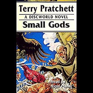Small Gods audiobook cover art