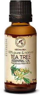 Tea Tree Eterisk Olja 30 ml - Melaleuca Alternifolia Bladolja - Australisk - Aromaterapi - Eteriska Oljor - 100% Ren & Nat...