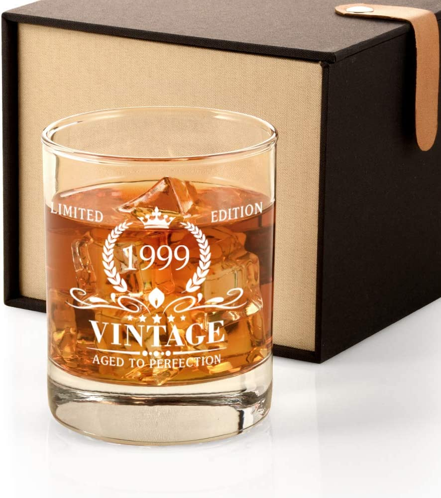 1999 22nd Birthday Discount is also underway Gifts for Men 22 Whiskey Vintage Sales of SALE items from new works Birth Glass