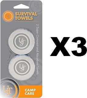 Ultimate Survival Technologies Survival Towels Blue Expanding Discs(3-Pack of 2)