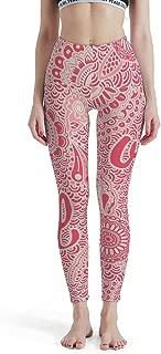 Women 4 Way Stretch Tummy Control Yoga Pant Flower, Mandala Gym Tights Legging Pants Butt Lift Tights