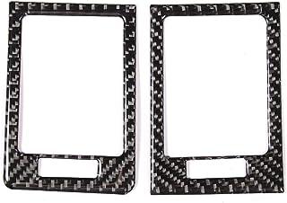 KSTE 2 PC Control Panel Vent Trim Weich Carbon Faser Luftauslassdeckel Fit for Mercedes W204 05 12