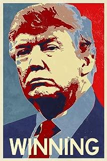 President Donald Trump Winning Campaign Metal Tin Sign 12