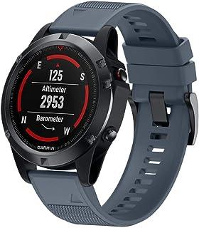 BarRan Silicone Watchband for Fenix 5 Fenix 5 (22MM)