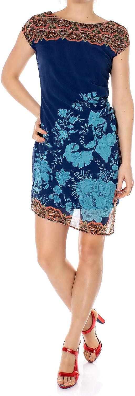 Desigual Woman Short Dress Vest Reset 19swvwah