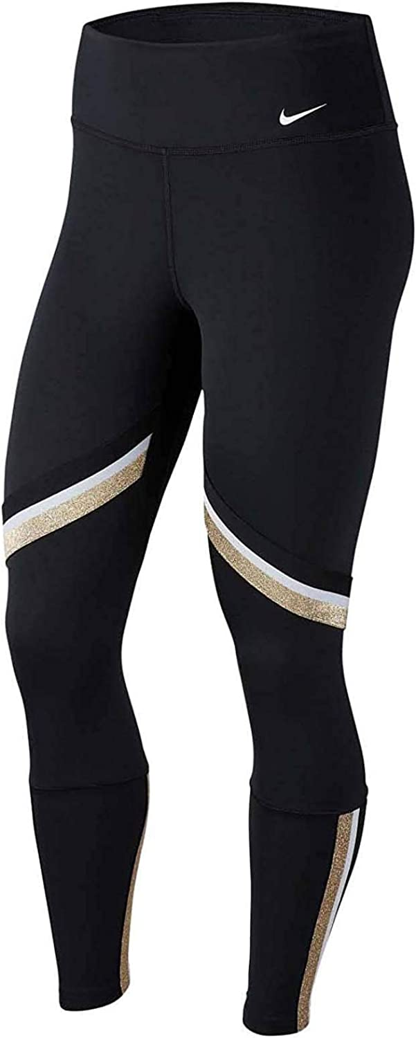 Spring new work one after another Nike Womens One Icon Clash 8 Size 7 Tights BV5362-100 Great interest