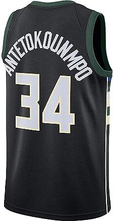 9178de65842 Giannis Antetokounmpo Black Icon Edition Jersey