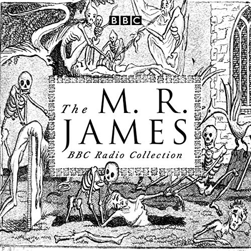 The M. R. James BBC Radio Collection audiobook cover art