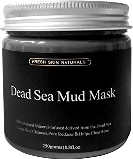 DISAAR BEAUTY Dead Sea Mud Mask for Face and Body Deep Pore Cleansing, Acne Treatment, Anti Aging and Anti Wrinkle, Organi...