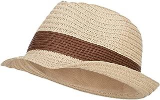 Women's Toyo Braid Fedora Hat