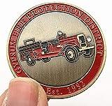 Moneda Conmemorativa del Centenario del Bronce Verde del Coche Americano Moneda Coleccionable Moneda en Relieve del Arte del Coche Medalla COPYCollection Gifts