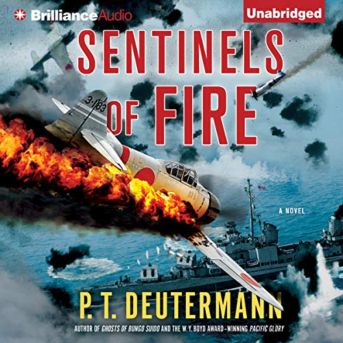 Sentinels of Fire audiobook cover art