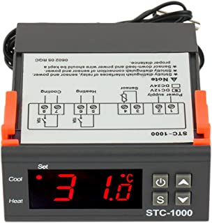 AGPtek Digital All-purpose Temperature Controller STC-1000 w/Sensor