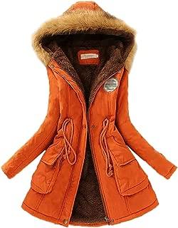 BOZEVON Womens Winter Hooded Jacket Warm Coat