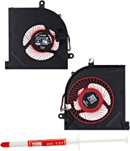 S-Union Laptop CPU Cooling Fan for MSI GS63 GS63VR GS73 GS73VR MS-16K2 MS-17B1 Series 4-Wire Replacement P/N: BS5005HS-U2F1 with Thermal Grease