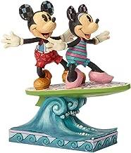 Enesco Disney Traditions Minnie & Mickey Surfboard