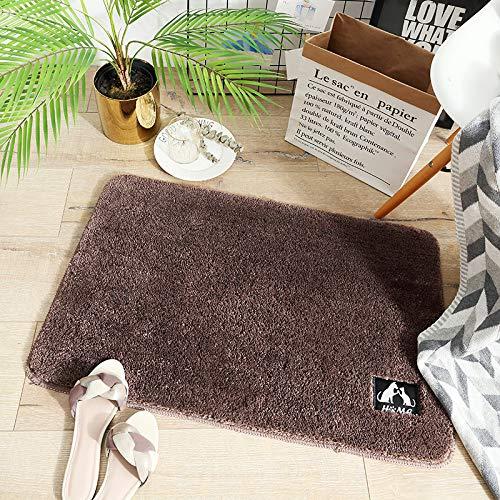 AUXING Teppich Fußmatten In Der Eingangshalle Zu Hause Bodenmatte Bad rutschfeste Matte Bad Wc Türmatte Saugfähigen Bodenmatte Benutzerdefinierte Netz60X90cm