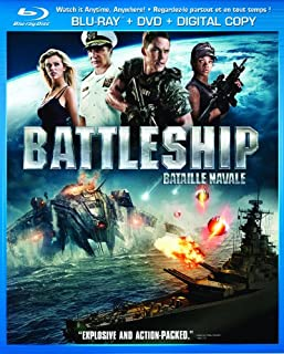 Battleship (Blu-ray + DVD + Digital Copy) (Bilingual) (B0088PCYVW) | Amazon price tracker / tracking, Amazon price history charts, Amazon price watches, Amazon price drop alerts
