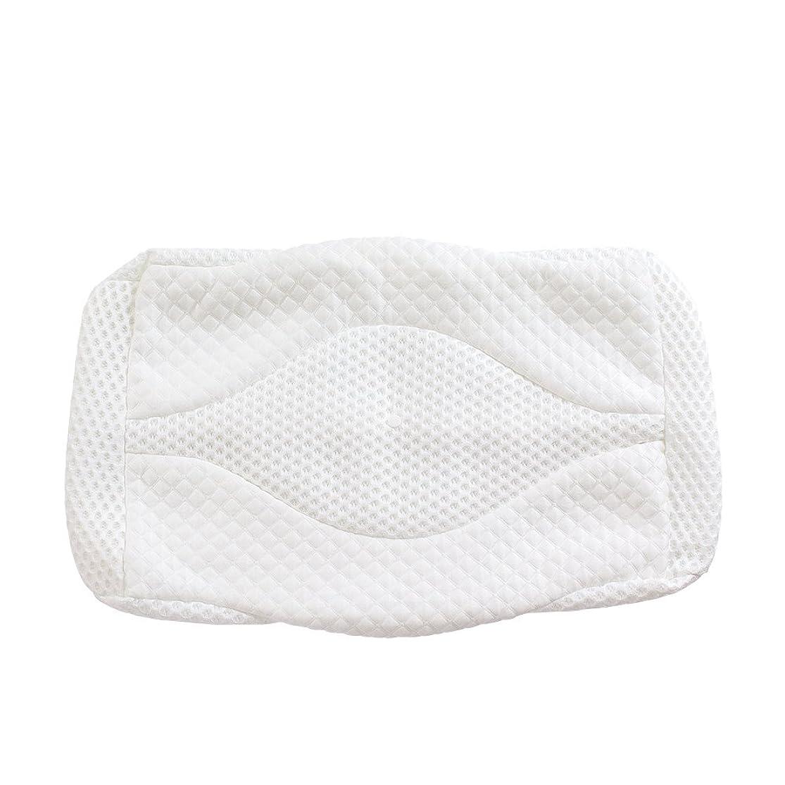 しなければならない令状戦艦MyeFoam 新世代 体圧分散 枕カバー ピロカバー ホワイト 上質なやさしさと肌ざわり