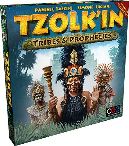 Czech Games Edition CGE00026 Tzolk'in: Tribes und Prophecies, Spiel