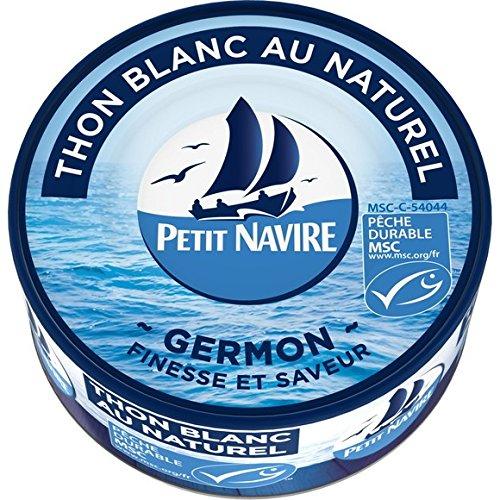 Petit Navire Thon Blanc au Naturel Germon Msc 160 g