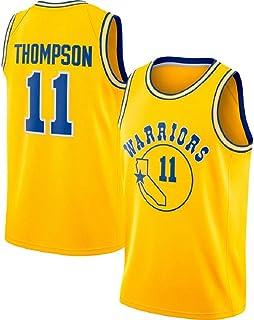 cdeb77a131c runvian Camiseta de Baloncesto para Hombre, NBA NBA Klay Thompson #11  Warriors Golden State