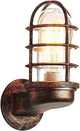 YJH+ レトロアイアンウォールランプ、クリエイティブリビングルームレストランカフェ衣類店バーアイランドバルコニーレトロ照明シングルヘッドE27,20 * 20cm 美しく、寛大な ( サイズ さいず : 20*20CM )