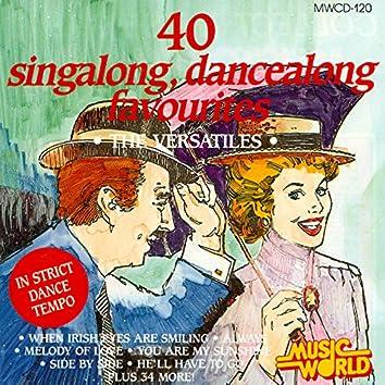 40 Singalong, Dancealong Favourites