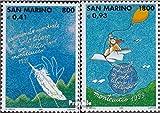 Prophila Collection San Marino 1810-1811 (Completa.edición.) 1999 WM en ala Delta (Sellos para los coleccionistas) Aviación