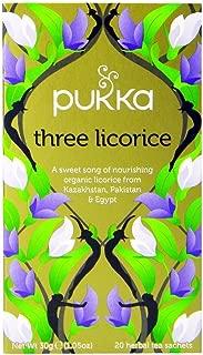 Pukka Tea - Three Licorice - (Pack of 2) 30g net weight each