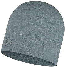 Buff Midweight Merino Wool HAT GRIJS