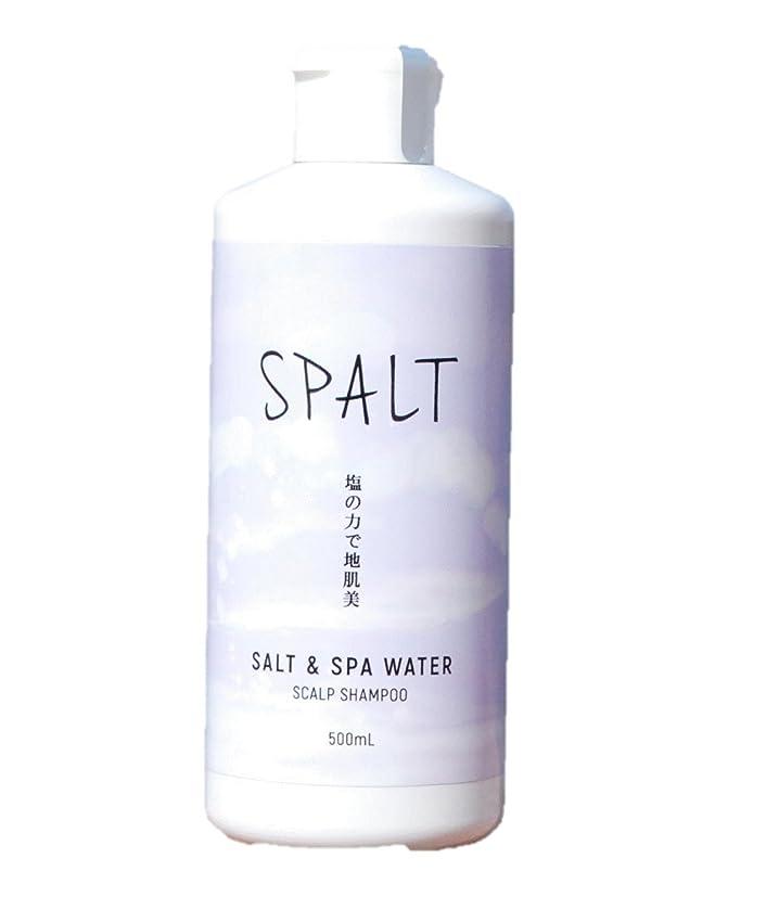 激怒後者復活させる塩シャンプー 皆生温泉水シャンプー スパルト