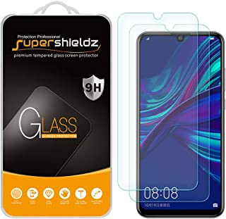 (2 Pack) Supershieldz for Huawei P Smart Plus (2019) Tempered Glass Screen Protector, Anti Scratch, Bubble Free