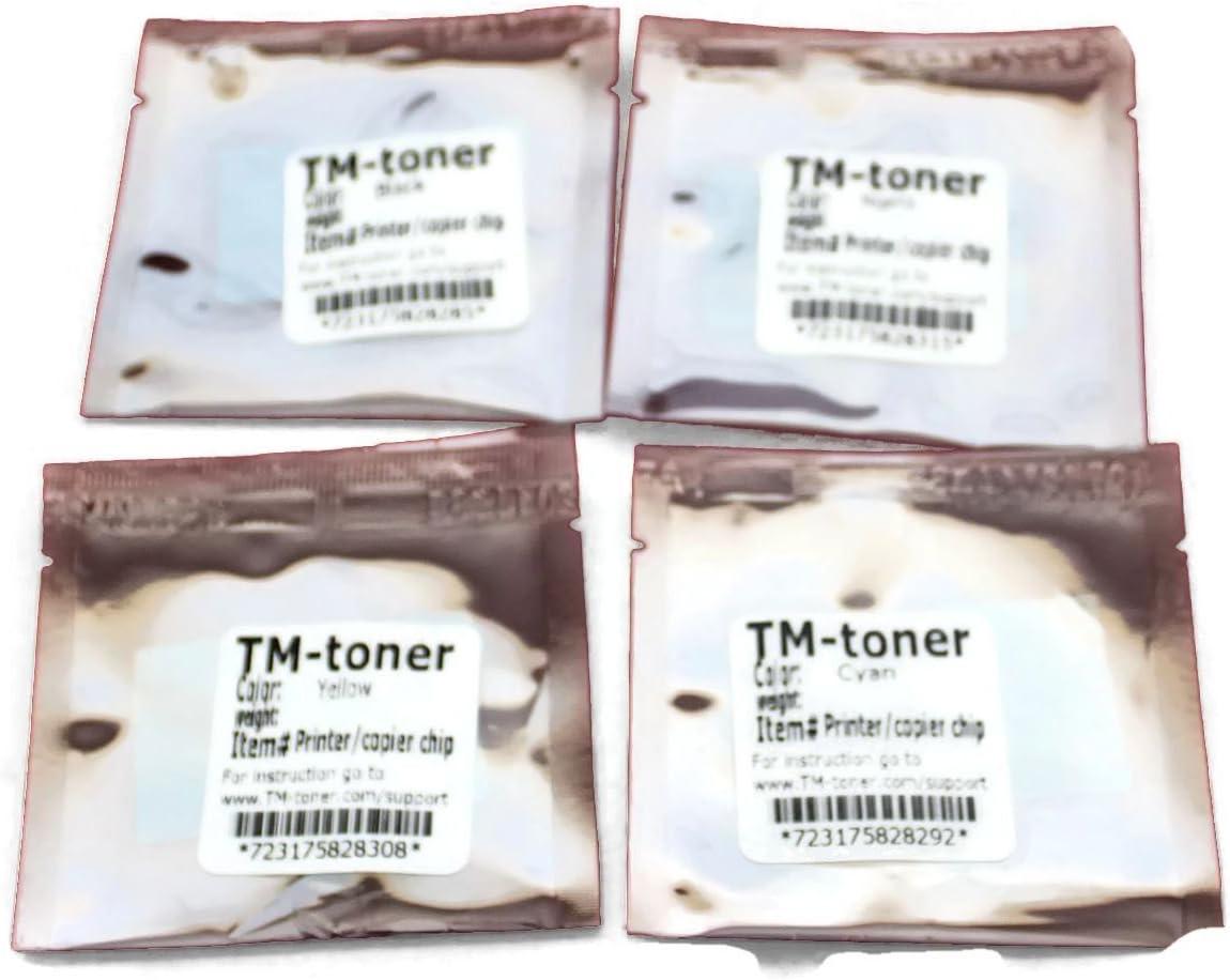 TM-toner 4 Replacement chips for Imaging Unit Konica Minolta Magicolor 4650EN 4650DN 4690MF 5550 5570 5650EN 5670EN printer A03100F A0310GF A0310AF A03105F