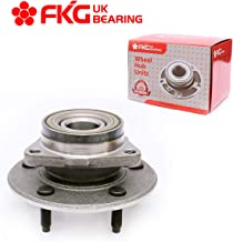FKG 515038 Front Wheel Bearing Hub Assembly fit for 2000 2001 Dodge Ram 1500 (4WD Rear Wheel ABS Only) 5 Lugs No ABS